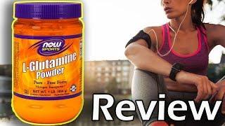 Now Sports: L-Glutamine Powder Supplement Review