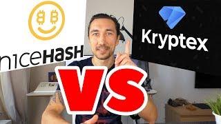 Nicehash vs Кryptex : лучший заработок в интернете?