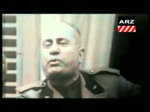 Mussolini  or  Al Gathafi = محمد العساف.flv