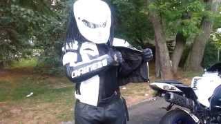 #Predator Motorcycle Helmet w/ gen 2 #kawasaki #ninja zx10r 06 w/ brand new dainese jacket sp-r