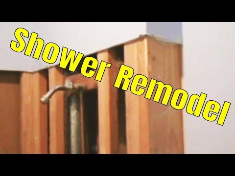 Shower Remodel 1 of 7 👍👍👍
