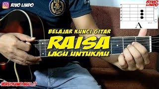RAISA - LAGU UNTUKMU (tutorial kunci/chord gitar versi asli)
