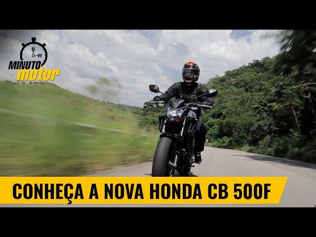 Conheça a nova Honda CB 500F 2020