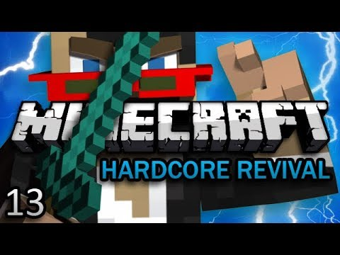 Minecraft: Hardcore Revival Ep. 13 - TRY NOT TO FALL CHALLENGE