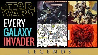 Star Wars: Invaders From Other Galaxies and Dimensions Explained! | Star Wars Legends Lore