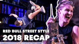 Freestyle Football Highlights at Red Bull Street Style 2018
