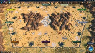 vuclip Civ 6 AI Only Timelapse: Through the Sandstorm