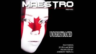 "Maestro Fresh Wes - ""Underestimated"" ft. JD Era & JRDN"