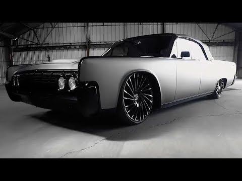 lexani custom 22 wheels on 1964 lincoln continental youtube. Black Bedroom Furniture Sets. Home Design Ideas
