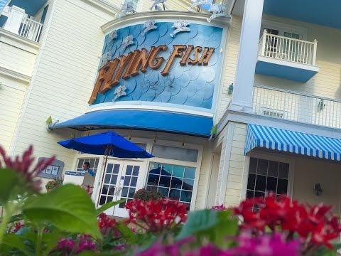 Flying Fish Café At Disney's Boardwalk
