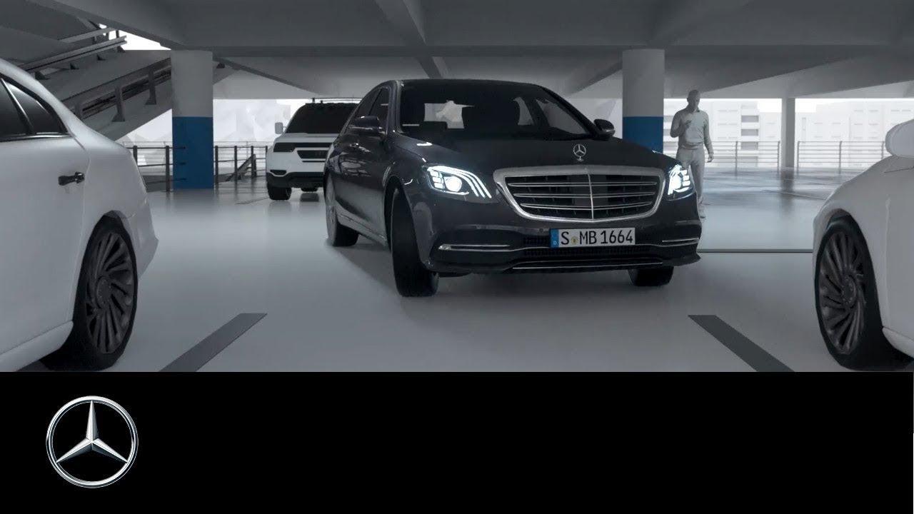 Mercedes benz s class 2017 remote parking assist for Parking at mercedes benz superdome
