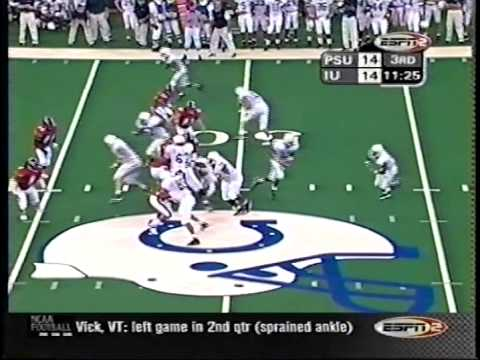 Penn State at Indiana - 10/28/2000 (Highlights)