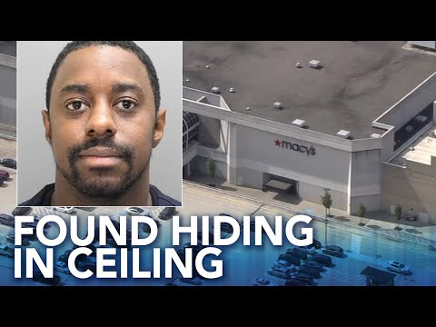 Hilary - Mall security guard steals thousands of dollars and hides in the ceiling