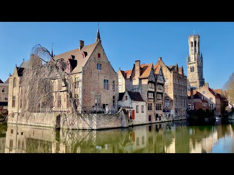 Bruges (4K ultra HD)   Europe's most romantic city