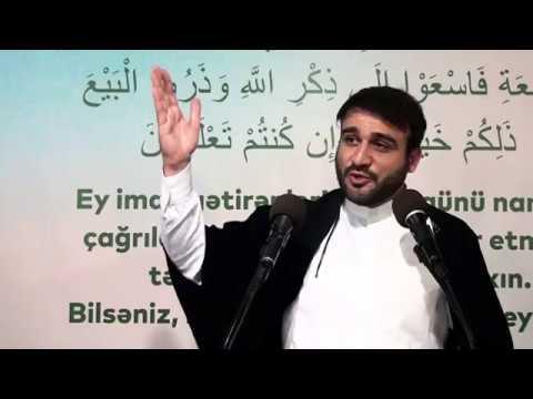 """Hacı Ramil - """"Savadsız insandan dini yox Tənbəlliyi alarlar"""" - Cəmiyyətin ehtiyacı olduğu xütbə"""