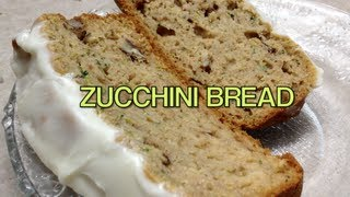 Zucchini Bread Video Recipe Cheekyricho