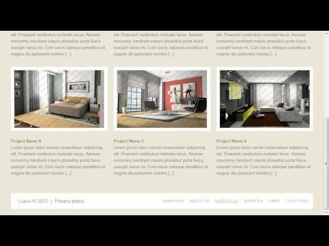 Hotel Representative Website Template
