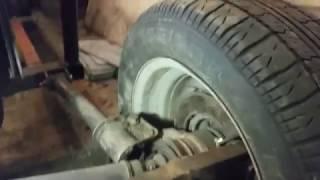 Багги Орел из ВАЗ 2108 двухместка- задняя подвеска