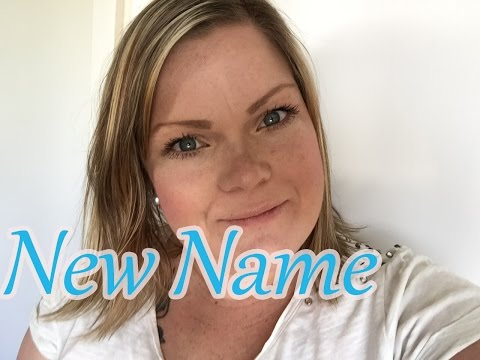 New Name!!!!
