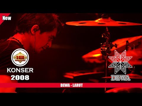DEWA - LARUT (LIVE KONSER SLAWI 2008)