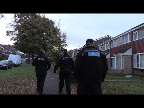 Daventry man arrested as part of National Crime Agency UK operation