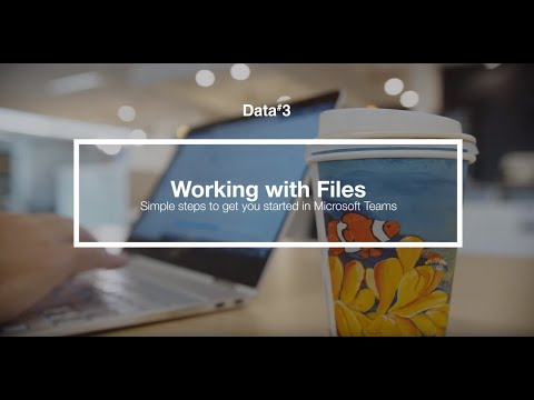 How do files work on Microsoft Teams?