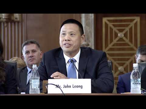 Kupu CEO John Leong testifies in front of the Senate Energy and Natural Resources Subcommittee