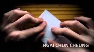 Origami Dove (tutorial)