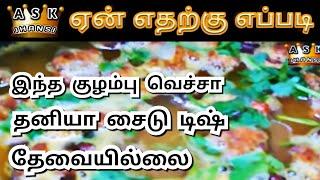 எப்படி பக்கோடா குழம்பு வைப்பது ? How to Cook Pakoda Kulambu in Tamil ?