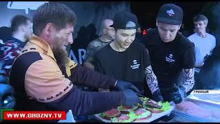 В Грозном состоялось официальное открытие ресторана Black Star Burger