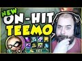 THIS NEW VERSION OF ON-HIT TEEMO IS SO GENIUS! ON-HIT TEEMO TOP GAMEPLAY SEASON 7! League of Legends