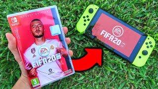 Esto Es F FA 20 Legacy Edition Para Nintendo SW TCH 😐 GAMEPLAY Español Y UNBOX NG