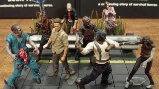 The Walking Dead Building Set's Series 2 Blind Bag Figure's Review (hd)