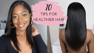 TOP 10 TIPS for Longer, Healthier Hair in 2019 | Healthy Hair Junkie