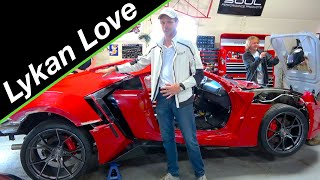 Body mounting | Lykan Hypersport build #10 from Fast and the Furious Live Stunt Car