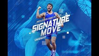 #SignatureMove: Abdulrashid SADULAEV'S (RUS) Cartwheel