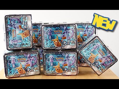 *RIDICULOUS* 9x Mewtwo & Pikachu 2019 Collector Chests Opened