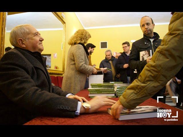 VÍDEO: Presentado el tercer volumen de Historias Lucentinas, de Francisco López Salamanca, a beneficio de AMARA