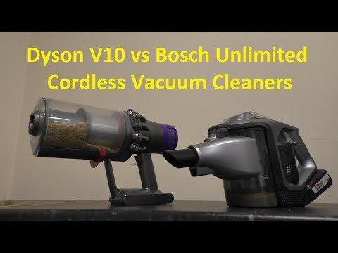 Bosch Bcs111gb Unlimited Cordless Vacuum Cleaner Unbox