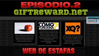 Web Estafas #2 - giftrewards.net