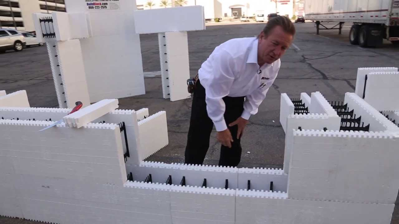 Buildblock Field Notes Icf Wall Stacking Strategies Youtube
