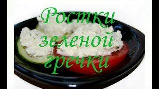 Ростки зеленой гречки. Польза и вред. Рецепт