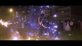Фаер шоу на свадьбу Омск FireEDGE