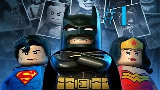 LEGO Batman 2:DC Super Heroes Walkthrough Part #1 No Commentary