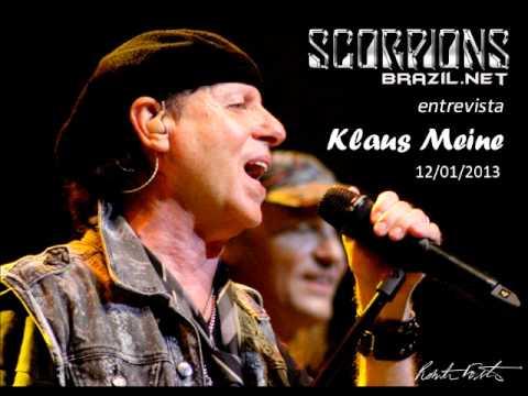 Entrevista/Interview: Klaus Meine - Scorpions Brazil - 12/01/2013 (Audio in English)