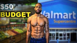 $ 50 FOR A WEEK OF LEAN BULKING | WALMART GROCERY LIST | SHOPPING TIPS | EPISODE 4