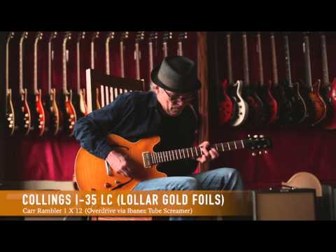 Collings I-35LC w/Lollar Gold Foil Pickups @ The Music Emporium