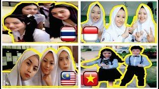 BEST OF ASIAN STUDENT TIK TOK | THAILAND, INDONESIA, MALAYSIA & VIETNAM