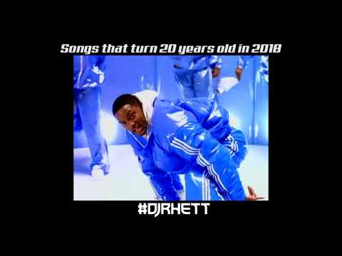 Songs that turn 20 years old in 2018