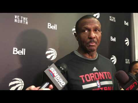 Dwane Casey Excited About Addition of Serge Ibaka